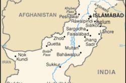Mappa del Pakistan (WikiMedia)