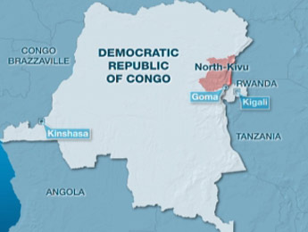 Dozens killed in massacre in eastern Congo