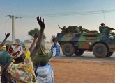 Un'immagine dell'intervento francese in Mali