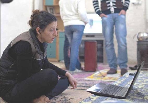 2014: una rifugiata siriana ospite di una comunità cristiana in Turchia (foto UNHCR).