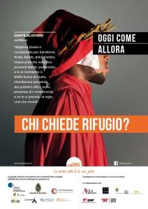 Bologna Cares - una delle locandine della campagna sugli autobus