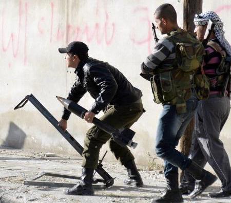 "Siria 2016: una scena di ""vita quotidiana"" (foto Amnesty International)."