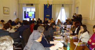 Alla presentazione del Rapporto sulla protezione internazionale in Italia 2016.