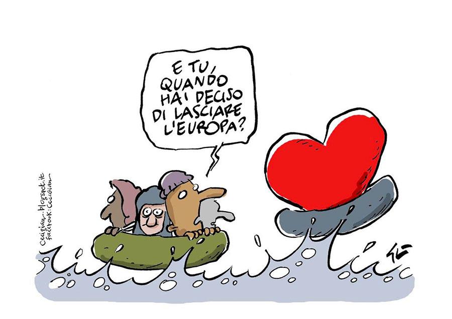 Incroci, vignetta di CeciGian.